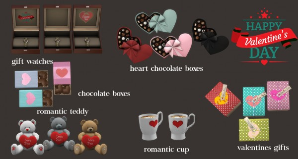 Leo 4 Sims: Valentines Day