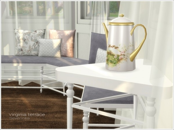 The Sims Resource: Virginia terrace by Severinka
