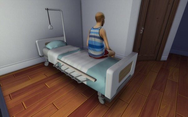 Mod The Sims: Medical bed Heal me up by Stanislav