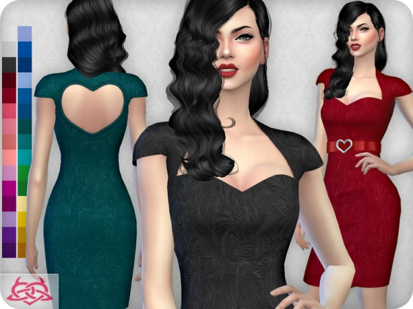 The Sims Resource: My love dress recolor 1 by Colores Urbanos
