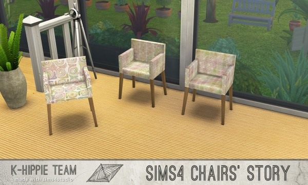 Simsworkshop: 10 Chairs Ekai serie LSD by k hippie