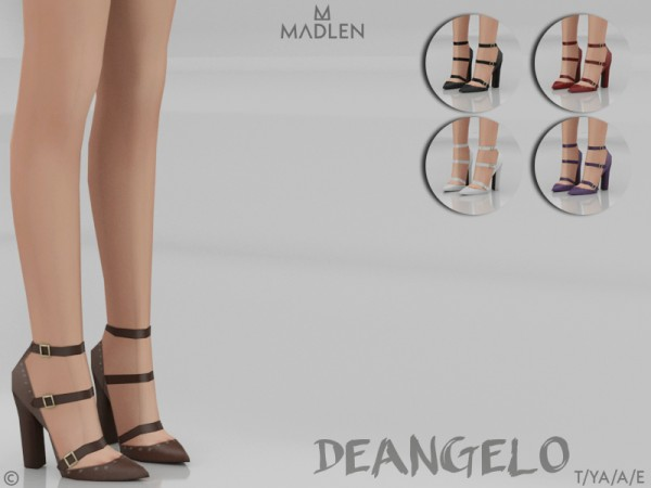 The Sims Resource: Madlen Deangelo Shoes by MJ95