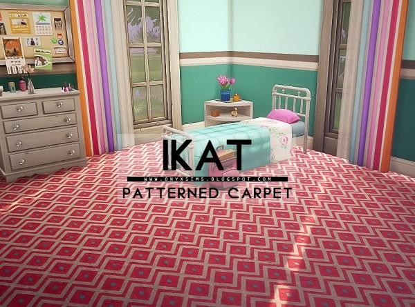 Onyx Sims: iKat Carpet