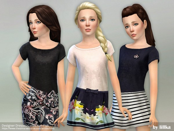 The Sims Resource: Designer Dresses Collection P96 by lillka