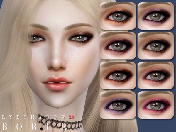 The Sims Resource: Eyeshadow 23 by Bobur