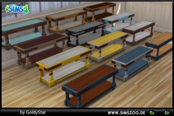 Blackys Sims 4 Zoo: GS80 TV Table by GoldyStar