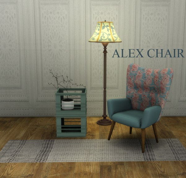 Leo 4 Sims: Alex chair