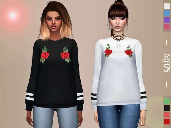 The Sims Resource: Twyla Top by Margeh 75