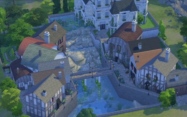 Mod The Sims: Old French Village by catdenny