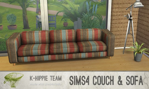 Simsworkshop: 15 Pluton Sofas 1 by k hippie