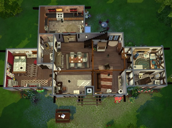Simsontherope: L'auberge house