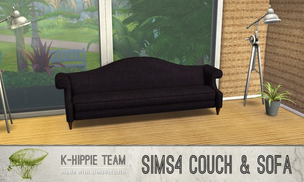 Simsworkshop: 15 Suitable Windsor Sofas 1 by k hippie