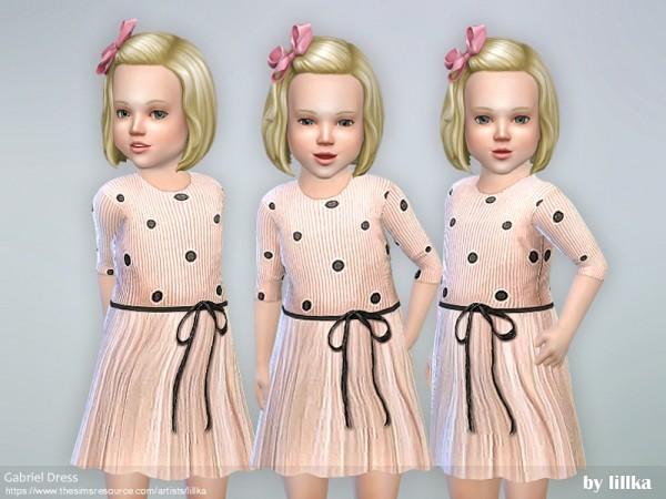 The Sims Resource: Gabriel Dress by lillka
