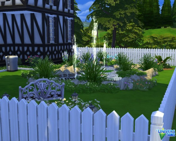 Luniversims: Cottage anglais by LouSims