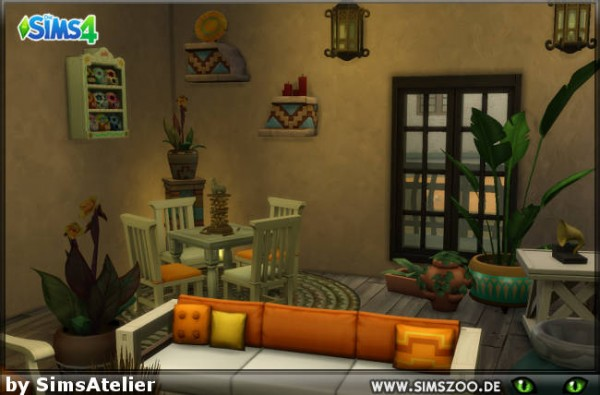 Blackys Sims 4 Zoo: Casa del Sol by SimsAtelier