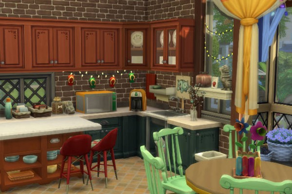 Blackys Sims 4 Zoo: I smell house by ChiLLi