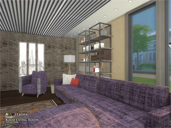 The Sims Resource: Bood Livingroom by ArtVitalex