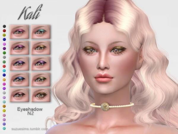 The Sims Resource: Kali Eyeshadow N2 by Suzue