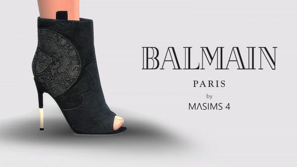 MA$ims 3: Balmain Boots