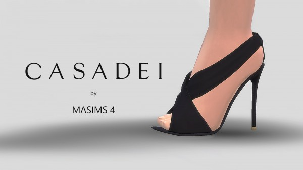 MA$ims 3: Crossover Sandals