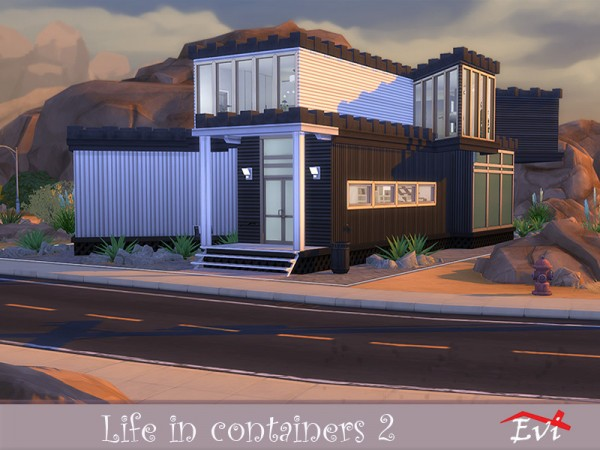The Sims Resource: Life in Containers 2 house by evi