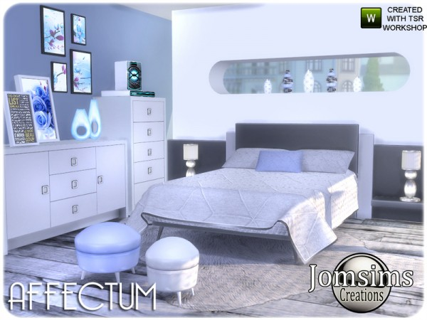 The Sims Resource: Affectum Bedroom by jomsims