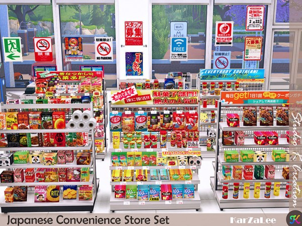 Studio K Creation: Japanese Convenience Store Set