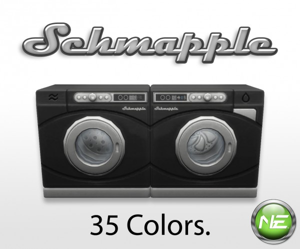 Mod The Sims: Schmapple Washer and Dryer by New Era