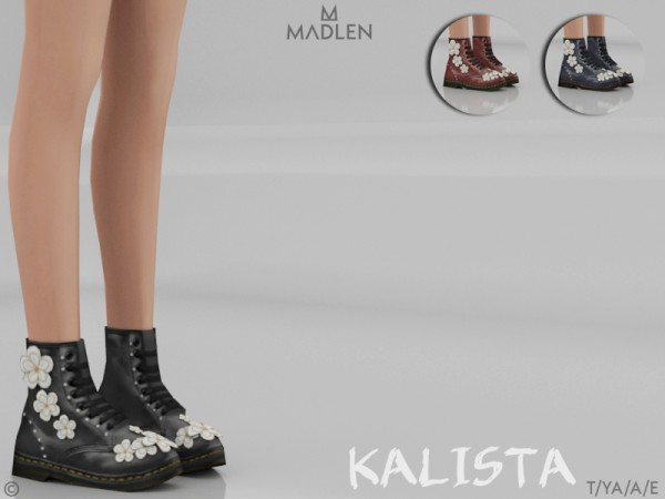 The Sims Resource: Madlen Kalista Boots by MJ95