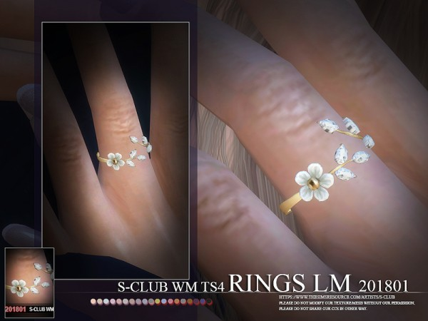 The Sims Resource: Rings 201801 LM by S Club