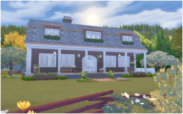 Via Sims: House 34   Gambrel Cottage