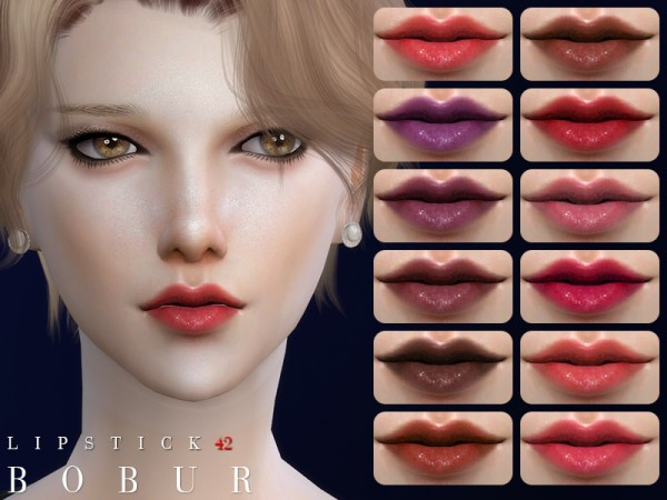 The Sims Resource: Lipstick 42 by Bobur3