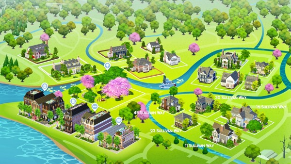 Simsational designs: Welcome to Davenporte