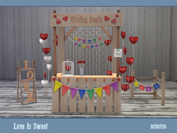The Sims Resource: Love Is Sweet by soloriya