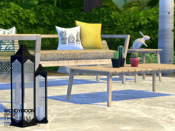 The Sims Resource: Thulium Garden Living by wondymoon