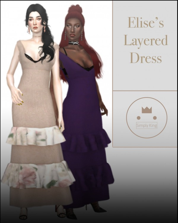 Simply King: Elise's Layered Dress