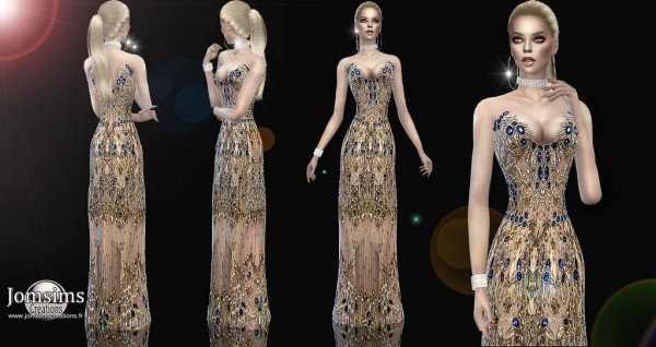 Jom Sims Creations: Sadivine dress