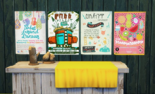 Budgie2budgie: Craft Market Posters
