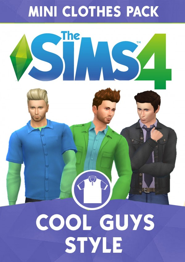 Simsworkshop: Cool Guys Style Mini Pack by cepzid