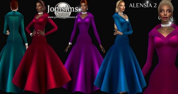 Jom Sims Creations: Alensia dress 2