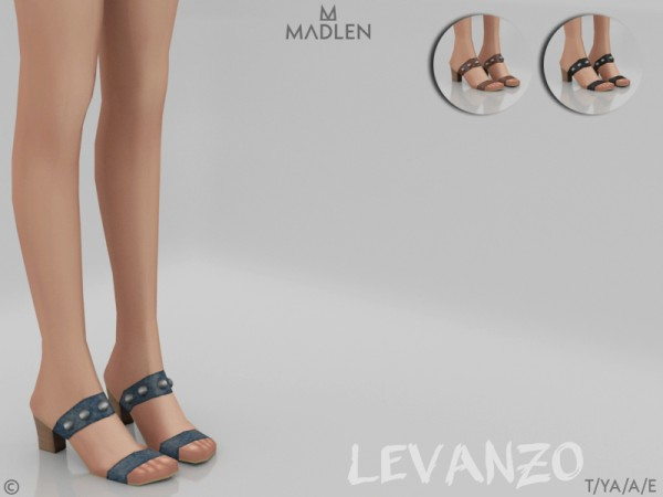 The Sims Resource: Madlen Levanzo Shoes by MJ95