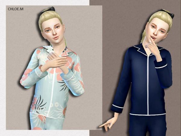 The Sims Resource: Pajama by ChloeMMM