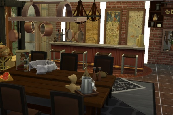Mod The Sims: Vintage Maps and Manuscript Paintings by bouncingsouls