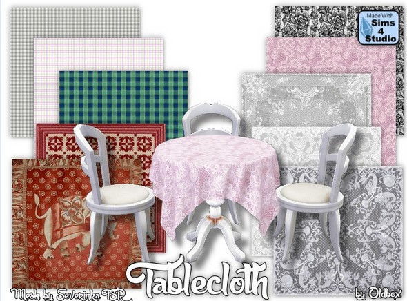 All4Sims: Tablecloth 4 by Oldbox