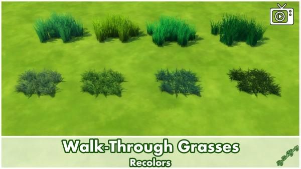 Mod The Sims: Walk Through Grasses by Bakie