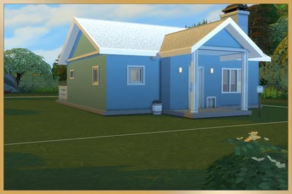 Blackys Sims 4 Zoo: Starter house kleinod by Schnattchen