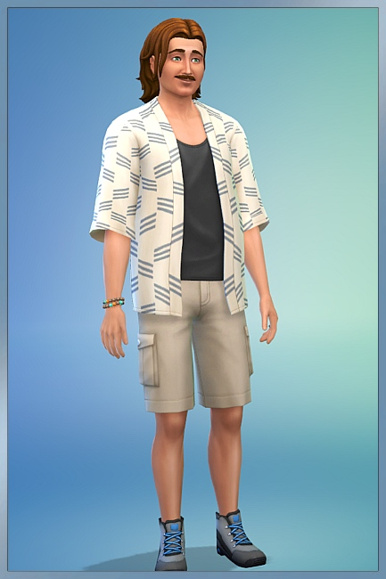 Blackys Sims 4 Zoo: Werner Bool by Cappu