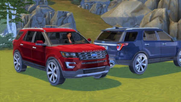 Lory Sims: Ford Explorer • Sims 4 Downloads