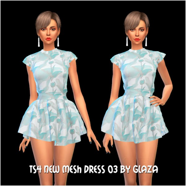 All by Glaza: New mesh dress 03