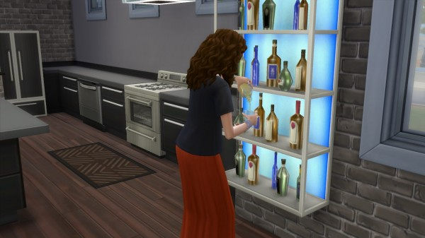 Mod The Sims: The Affirmed Functional Liquor Cabinet by IGYPickleRix